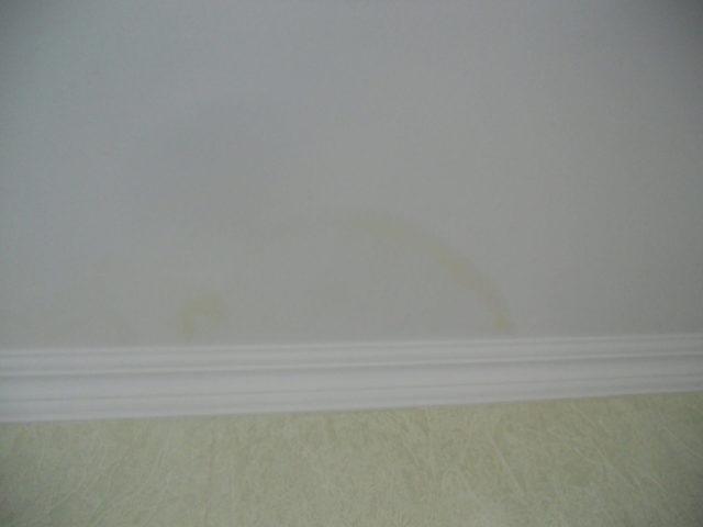 Компенсация от застройщика: Окраска поверхностей с разводами и подтеками