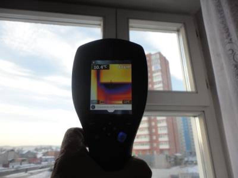Тепловизионное обследование: оценка и экспертиза строительных недостатков